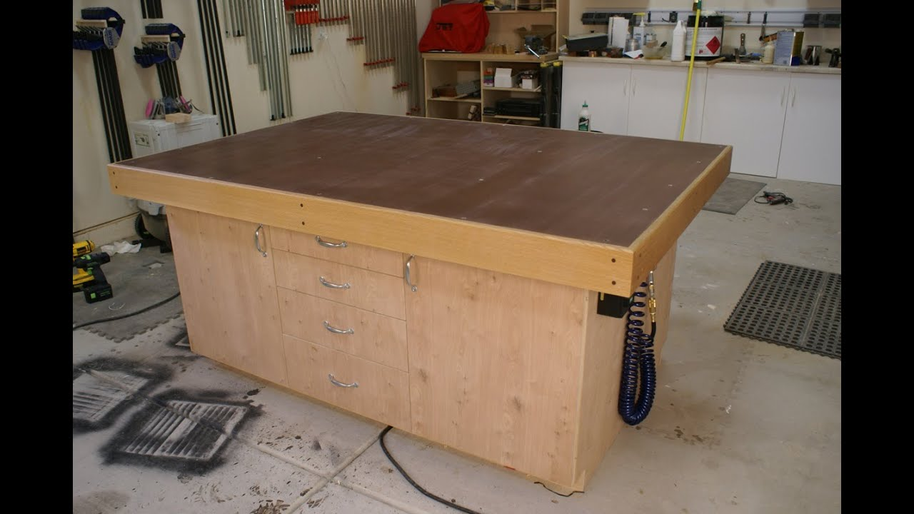 18 How To Build A Torsion Box Assembly Table Top Part 1
