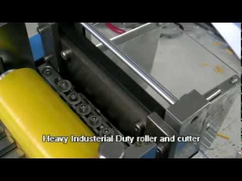 Flat Cable Plastic Tube Heat Shrink Tube Cutting Machine
