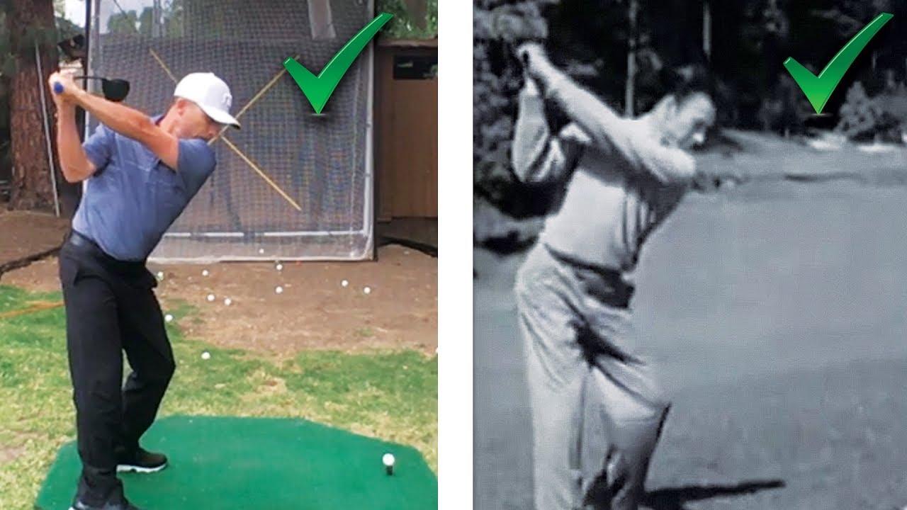 Ben Hogan S Secret Driver Swing Drill Yes You Can Swing Like Hogan