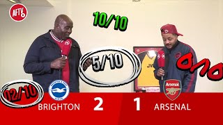 Brighton 2-1 Arsenal | I'm Only Defending Leno - Troopz Player Rating