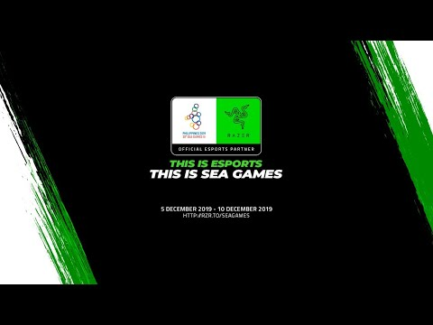 [LIVE NOW] Esports At The SEA Games, Philippines 2019 – Day 1 / December 5