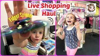 IHR SCHICKT HANNAH EINKAUFEN 🛍 Live Shopping Haul 🛍 5-Jährige geht shoppen