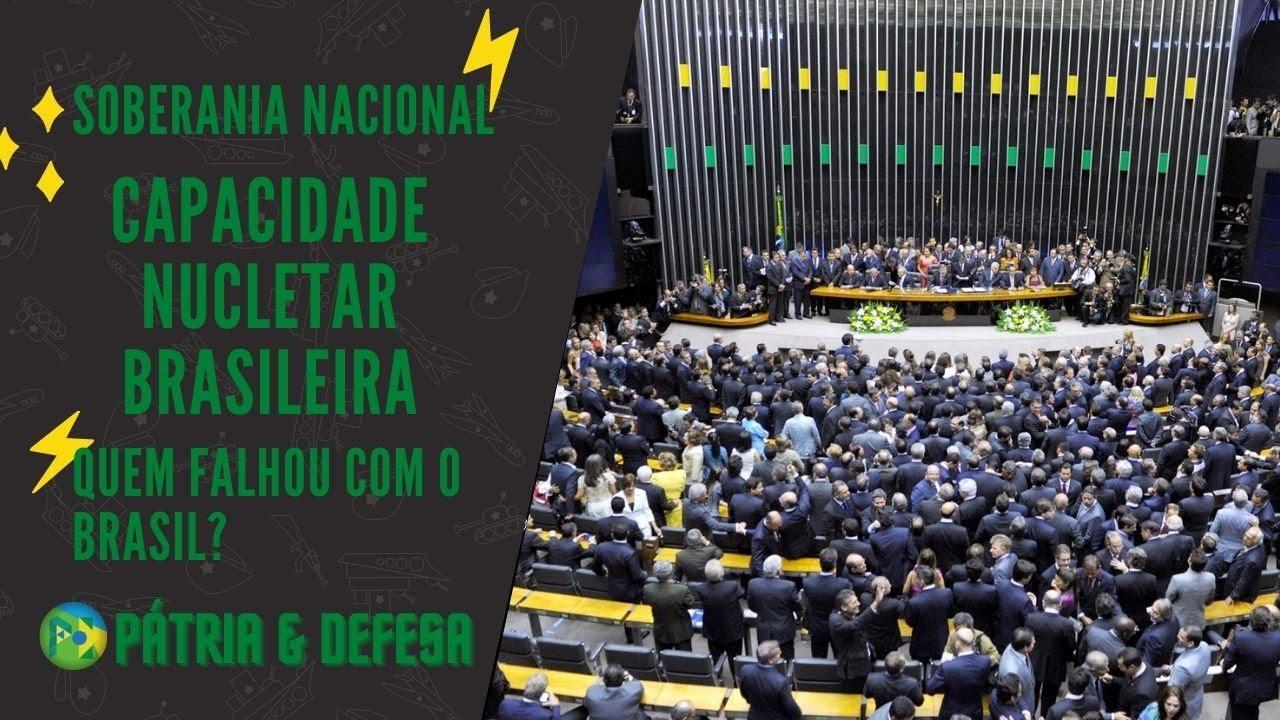 Bomba Nuclear do Brasil - Quem impediu, e o que impede esta ferramenta de soberania ao nosso país!