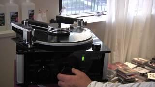 Hannl, machine à nettoyer les vinyles (Salon HiFi-HC 2012)
