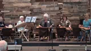 Allatooners Dulcimer Ensemble Group at 2014 Summer Satellite Gathering