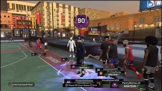 NBA 2K19 HITTING 90 OVERALL ON PS4 STREAM! BEST JUMPSHOT! NBA 2K19 PARK GAMEPLAY