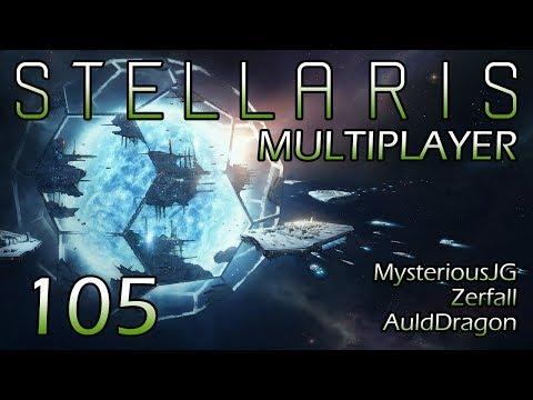 Stellaris Multiplayer W/MysteriousJG And Zerfall — Part 105