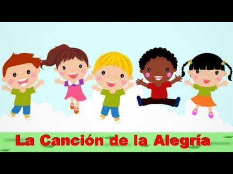 LA CANCIÓN DE LA ALEGRIA (VERSION KARAOKE CON VOZ GUÍA) KARAOKE KIDS