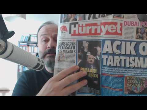 11 Ocak 2017, Gazetelerin Yazdıkları- YazAmadıkları...