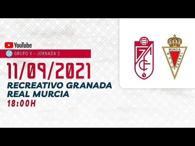 Club Recreativo Granada 0-0 Real Murcia [Partido completo]