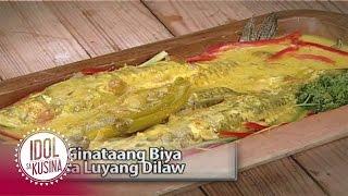 Idol sa Kusina recipe: Ginataang Biya sa Luyang Dilaw
