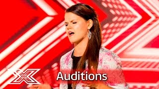 Saara Aalto makes Nicole want to twerk! | Auditions Week 1 | The X Factor UK 2016