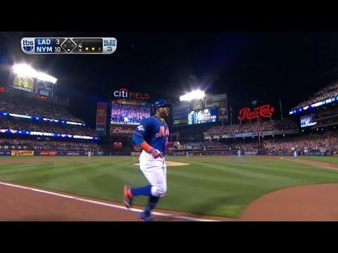 Cespedes hits a monster three-run homer