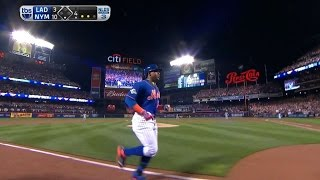 Cespedes hits a monster three-run homer