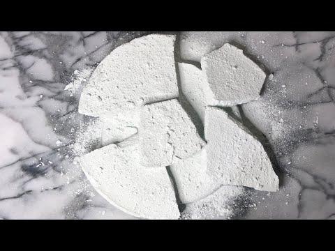 Comet & Gym Chalk Crush // Crunchy & Powdery // Oddly Satisfying - Anxiety Relief • ASMR