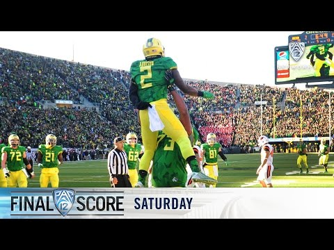 Highlights: No. 17 Oregon Football Outlasts Oregon State In 119th Civil War
