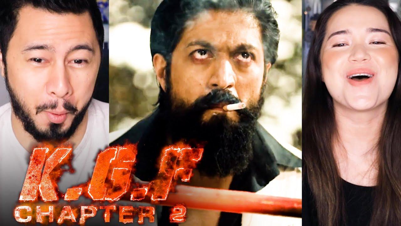 Download KGF CHAPTER 2   Yash   Sanjay Dutt   Prashanth Neel   Reaction by Jaby Koay & Achara Kirk