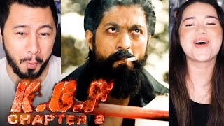 KGF CHAPTER 2 | Yash | Sanjay Dutt | Prashanth Neel | Reaction by Jaby Koay & Achara Kirk
