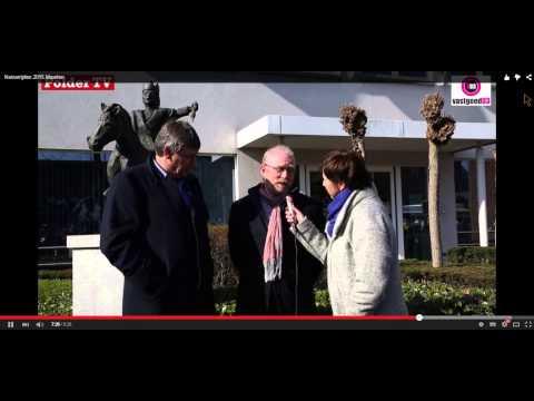 Keizerrijden Burgemeester Rik Frans en Minister Jan Jambon
