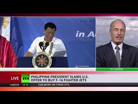 Duterte dismisses an offer to buy 'utterly useless' F-16 fighter jets
