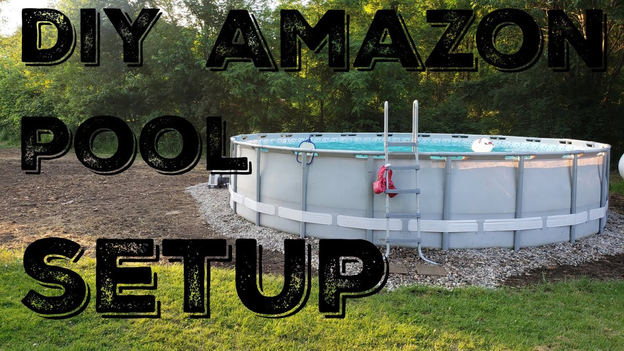 Intex Pools On Amazon Amazon Or Walmart Pool And Filter Setup What Do You Get For Under 600