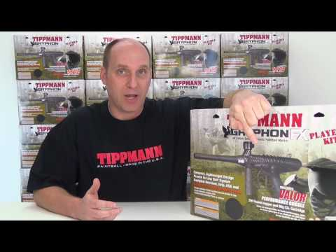 Tippmann Gryphon Players Kit Paintball Marker Package