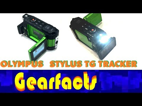 Olympus TG Tracker Action Camera demo and review. Get creative!