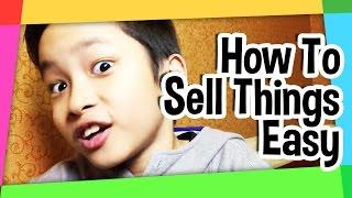 Cara jualan cepat laku! how to sell things easy!