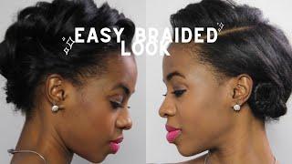easy jumbo braid hair tutorial