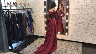 Красное кружевное вечернее платье длинное в пол — купить в Санкт-Петербурге