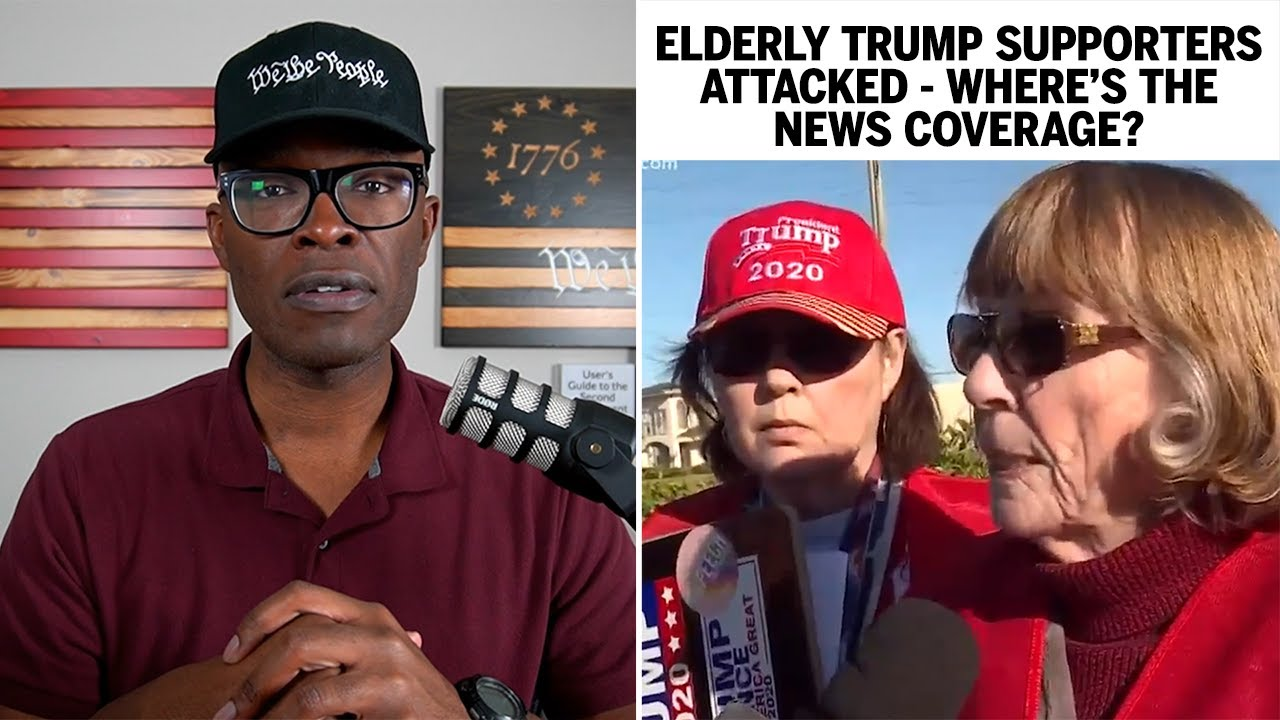Elderly Trump Supporters ATTACKED - Where's The News Coverage? - ABL
