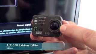 Caméra PNJcam AEE S70 Extreme Edition - presentation FR
