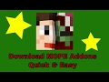 Minecraft PE | How To Download MCPE Addons In A Quick & Easy Way