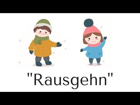 'RAUSGEHN' (Anziehlied)