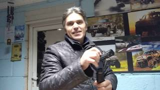 Олег показал свою палку )))