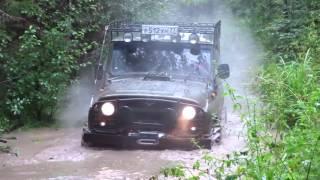 УАЗ на тракторной резине Ф Бел 160 м БЕЛКИ ЗЛО на бездорожье