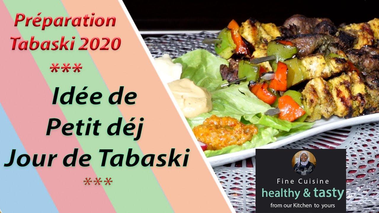 Idée de Petit déj jour de la Tabaski!