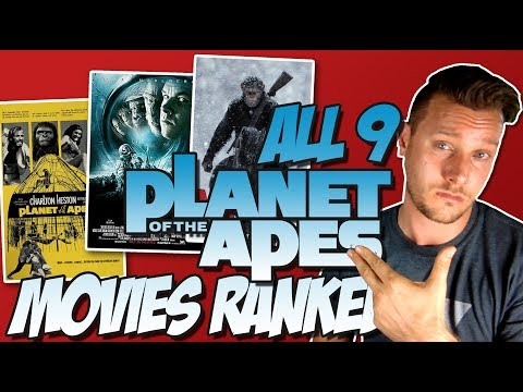 All 9 Planet of the Apes Movies Ranked From Worst to Best (w/ War for the Planet of the Apes)