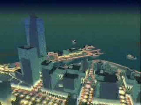Pristine Places Animation: Pusan Harbor Urban Design