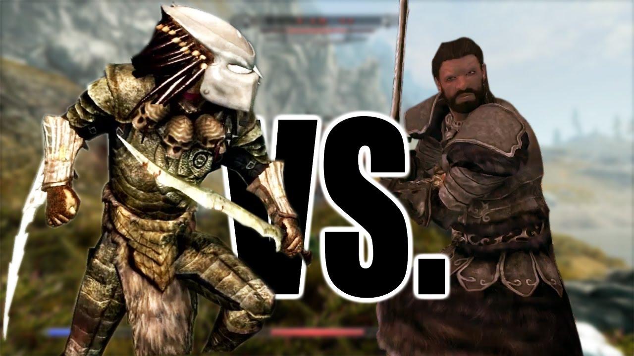 Predator Mod Vs The Deadly Bandits of Skyrim | Skyrim Remastered Xbox One  Console Mods