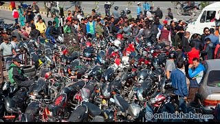 Petrol crisis by India blockade on Nepal _ Report