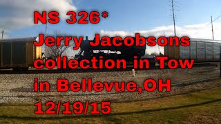 NS 326*Jerry Jacobsons collection in Tow in Bellevue,OH 12/19/15