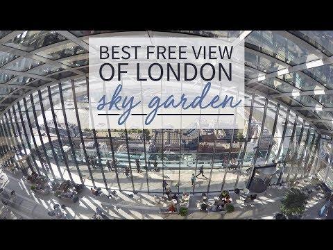 Best Free London View l Sky Garden Experience