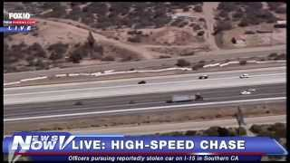 FNN: SoCal Police Chase on I-15, Video of Warren Sapp Police Interview, Legalizing Pot