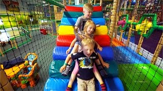 Indoor Playground Fun for Family and Kids at Lek & Buslandet (part 2 of 2)