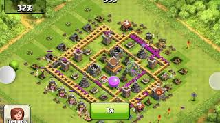 Clash Of Clans - someone attacking my village