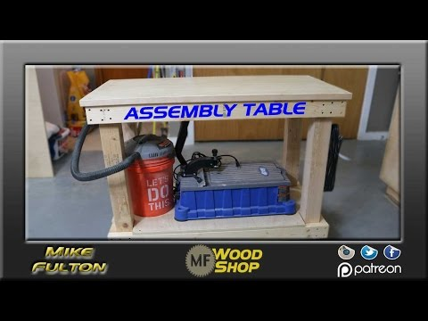 Simple, but strong Assembly Table