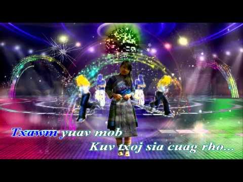 kuv mam ua tus zam kev instrumental.karaoke( Hồng Đại Ka)HD