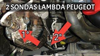 UBICACIÓN 2 SONDAS LAMBDAS PEUGEOT