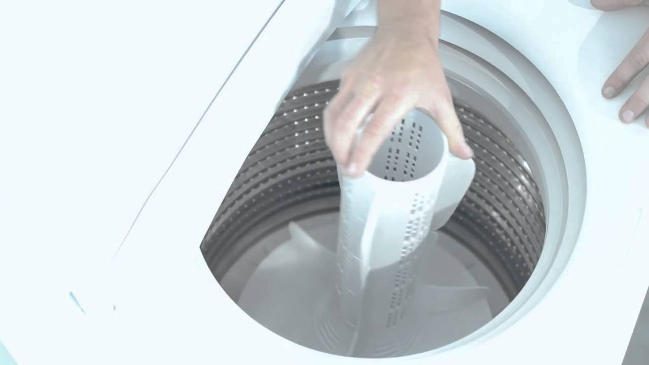 how to get agitator out of washing machine